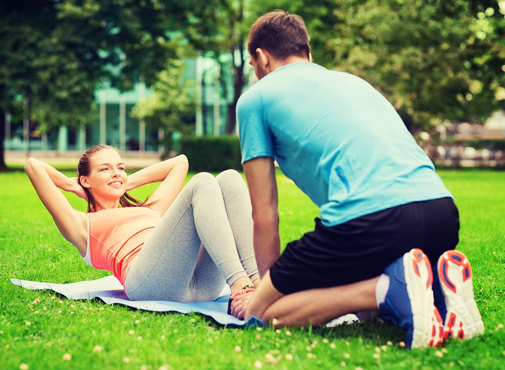 Outdoors personal training
